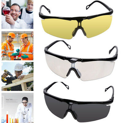 Safety Goggles Eyes Protection Clear Protective Glasses Wind Dust Anti-fog Use