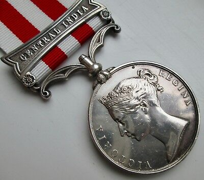 Medal Indian Mutiny 1857-58 clasp Central India Sergeant 83rd Regiment