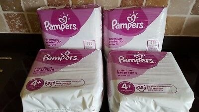 Pampers Premium Protection Active Fit Nappies, Monthly Saving Pack of 140 4+