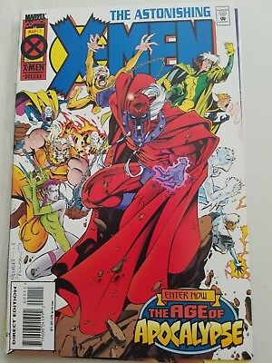 Astonishing X-Men #1-4 (1995) Marvel Full Series Age Of Apocalypse Joe Madureira