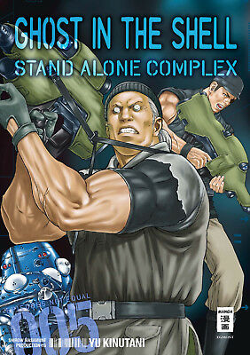GHOST IN THE SHELL: Stand Alone Complex * Band 5 * Manga * NEU * portofrei