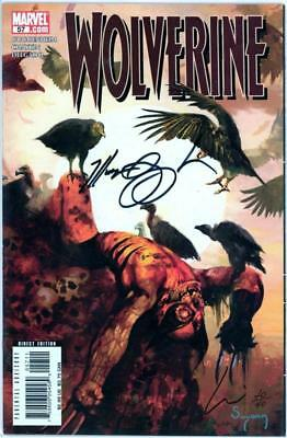 WOLVERINE #57 DYNAMIC FORCES SIGNED x2 CHAYKIN DF COA LTD 40 MARVEL COMICS