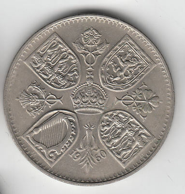Gb New York Exhibition Crown 1960          55H       By Coinmountain