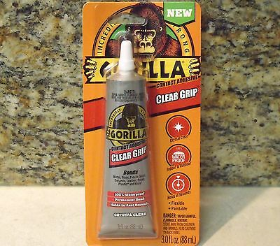 Gorilla Clear Grip Contact Adhesive - 3 oz.