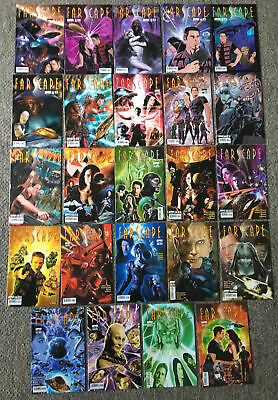 2009 Boom! FARSCAPE comics #1-24 ~ FULL SET