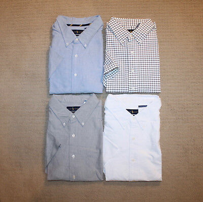 New Polo Ralph Lauren Big and Tall Short Sleeve Oxford Cotton Pony Logo Shirt