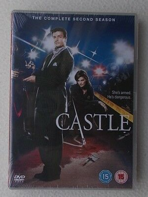 Castle : The Complete Second Season / Series 2 ~ UK DVD ~ Brand New & Sealed