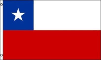 Chile Flag Chilean Country Banner Pennant Bandera - Size: 3' x 5' with Grommets