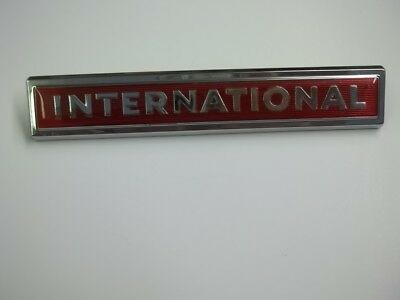 New Old Stock 60S-70S IH International Emblem 11810-1 2754222-R1 Truck Scout #1