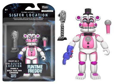 Funko Action Figure Five Nights at Freddy's-Sister Location Funtime Freddy 13741