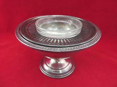 Reed & Barton Silver Soldered Phillips 66 Iced Shrimp Dish, 2004F2