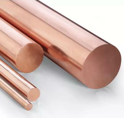 "US Stock 8pcs 3mm Dia. 9.85"" Long 99.9% Pure Copper T2 Cu Metal Rods Cylinder"