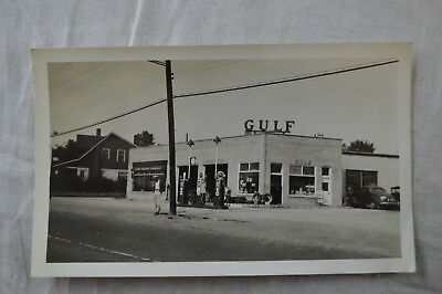 Vintage Photos 1930s Cars by Gulf Gas Station 830009
