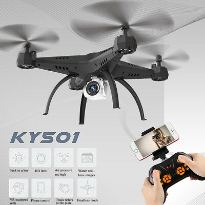 Wide Angle Lens 5MP 720P HD Camera Drone RC Quadcopter WiFi FPV Helicopter CO