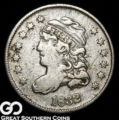 1832 Capped Bust Half Dime, Tough Early Silver Type
