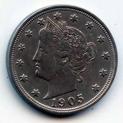 1905-p Liberty head Nickel (SEE PROMOTION)
