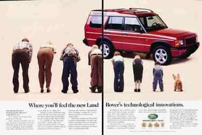 1999 Land Rover Discovery 2-page Original Advertisement Print Art Car Ad J900