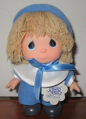 """Precious Moments Hi Babies Doll January  Calender  Months 5"""" Doll 1989"""
