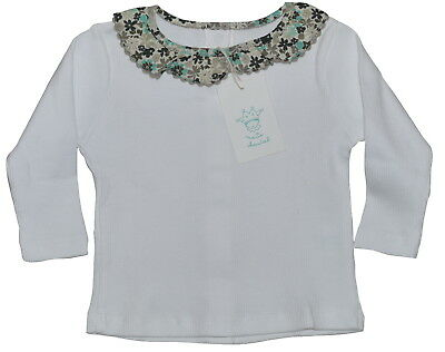 Marie Chantal Baby Girls 100% Cotton Top Various Sizes NWT SP £40