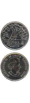 KANADA/CANADA 25 Cents/Quarter 2009 UNC (KM# 1063) 'Men's Ice Hockey'