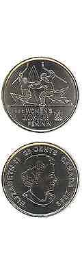 KANADA/CANADA 25 Cents/Quarter 2009 UNC (KM# 1064) 'Women's Ice Hockey'