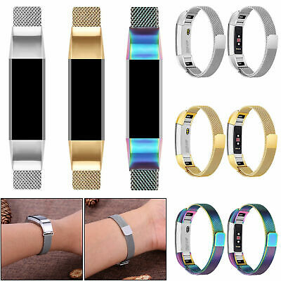 Milanese Magnetic Loop Strap Stainless Steel Wrist Band for Fitbit Alta/Alta HR