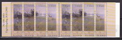 Aland 2003 Paintings Complete Booklet (1) Mint Never Hinged
