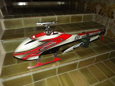 Sab Goblin 500 Helicopter Carbon Fibre New Never Used Kit. $900 Retail