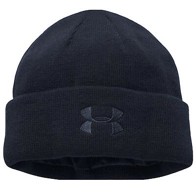 Under Armour UA Mens Tactical Stealth Sports Beanie Hat - Charcoal