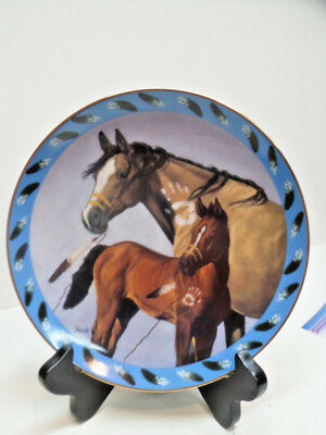 Danbury Mint Father and Son Horse Collector Plate