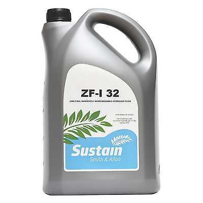 Zinc Free ZF Hydraulic Oil ISO 32 Biodegradable 5 Litre 5L