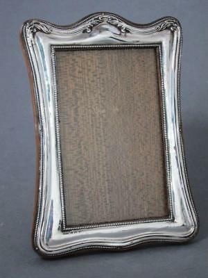 Beautiful Antique Solid Sterling Silver Picture Photo Frame 1922