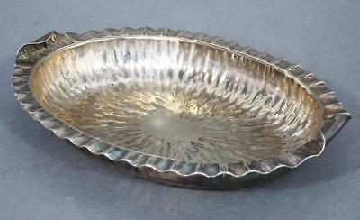 BEAUTIFUL ANTIQUE HUKIN & HEATH SILVER PLATED SERVING DISH 1880 tray c dresser