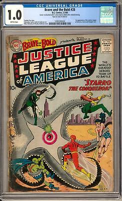 Brave and the Bold #28 CGC 1.0 (B) Origin & 1st appearance of the Justice League
