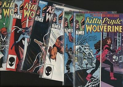 Kitty Pryde & Wolverine #1-6 Set Great Chris Claremont Script White Pages 1984