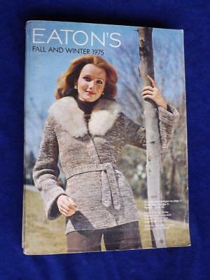Catalog Eatons Vintage Department Store Clothes Gifts 1975 Fall And Winter
