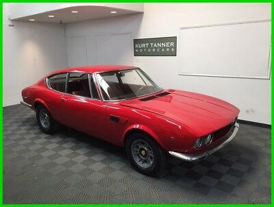 1967 Fiat Dino 2.0 Coupe 1967 FIAT DINO 2.0 LITER SPORTS COUPE. V-6 DOHC, TRIPLE WEBER CARBS, 5-SPEED