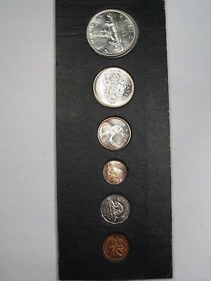 6 Coin Proof-Like Canadian Silver 1959 Set.  #7
