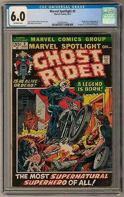 Marvel Spotlight #5 CGC 6.0 (OW) 1st Appearance of Ghost Rider (Johnny Blaze)