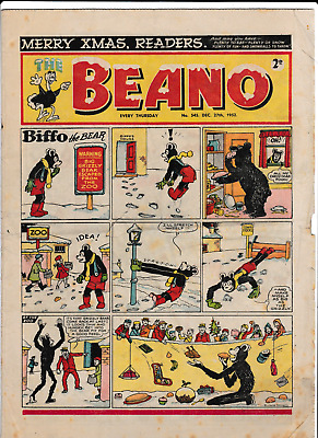 Christmas BEANO Dec.27th 1952 # 545 comic