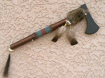 Native American Rawhide Wrapped Tomahawk