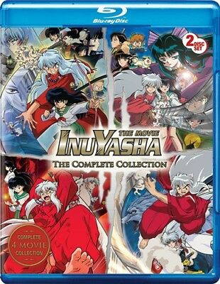 INUYASHA THE MOVIE COMPLETE COLLECTION New Sealed Blu-ray All 4 Films