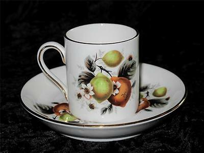 VINTAGE China Espresso Coffee Cup & Saucer 'Sutherland China' Hudson & Middleton