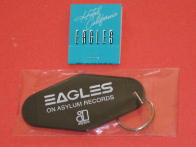 Eagles Hotel California Promo Key Chain & Matchbox Promotional item for LP CD RE