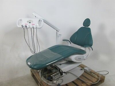 Green KaVo KCH 100 Dental Operatory Patient Exam Chair w/ Delivery System