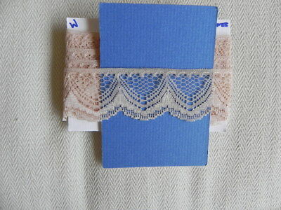 Card of New Lace  - Brown Scollop