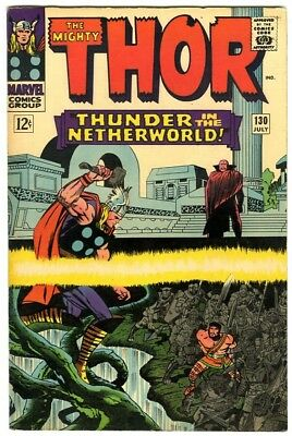 Thor #130 (1966) Fine- New Original Owner Marvel Comics Collection