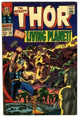 Thor #133 (1966) Fine New Original Owner Marvel Comics Collection