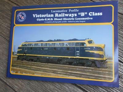 Scarce 1st ed Victorian Railways VR Locomotive profile B class Clyde Electric