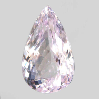 41.9ct.Brilliant Gem! 100%Natural Top Silver Pink Kunzite Unheated AAA Jumbo!